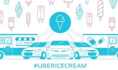 Uber Ice Cream, Uber da helados, Uber, Uber eats, promociones de Uber, #UBERICECREAM