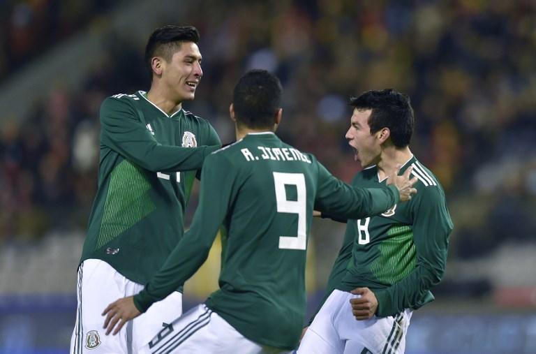 """Hirving """"Chucky"""" Lozano + 10: México empata a 3 en Bélgica 000_U63O1"""