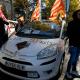 taxistas, Taxistas realizaron una huelga, huelga de Taxistas en España, Uber, Cabify