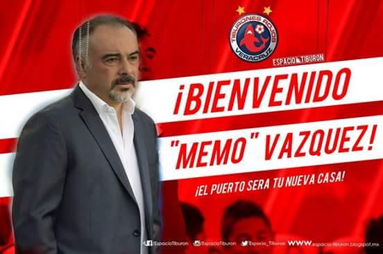 Guillermo Vázquez entrenador de Veracruz