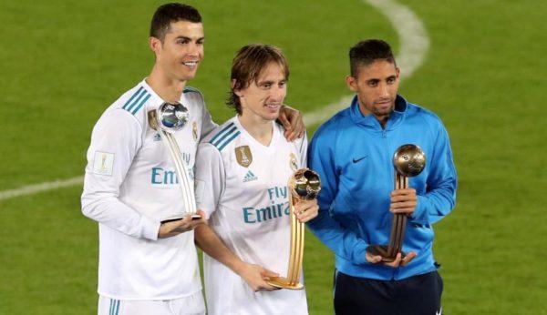 Luka Modric como el mejor