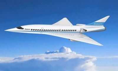 Avión supersónico