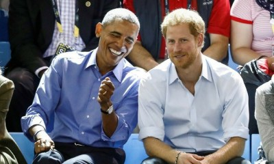 príncipe Harry entrevista a Obama, Reportaje del príncipe Harry a Obama, el príncipe periodista