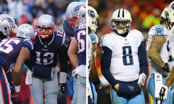 Titans y Patriots lucharan por un boleto