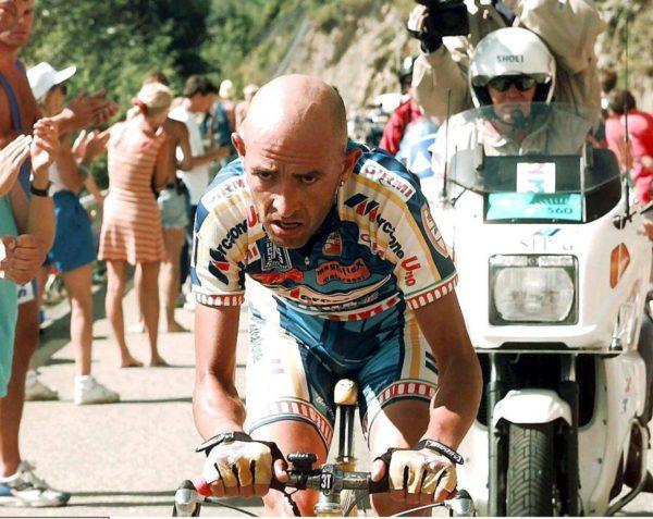 Marco Pantani el último ciclista que ganó
