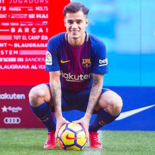 Coutinho nuevo jugador de Barcelona