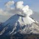 Popocatépetl, Popocatépetl emitió una fumarola de dos kilómetros