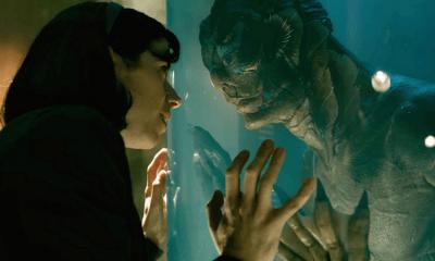 """""""The Shape of Water"""" lidera las nominaciones en los Bafta, Bafta, Guillermo del Toro, La forma del agua, The Shape of Water"""