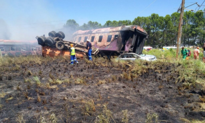 accidente de tren en Sudáfrica, accidente de tren, Sudáfrica