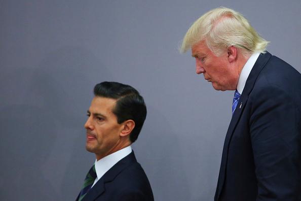 Peña Nieto canceló la visita a la Casa Blanca tras tensa llamada con Trump 598121770
