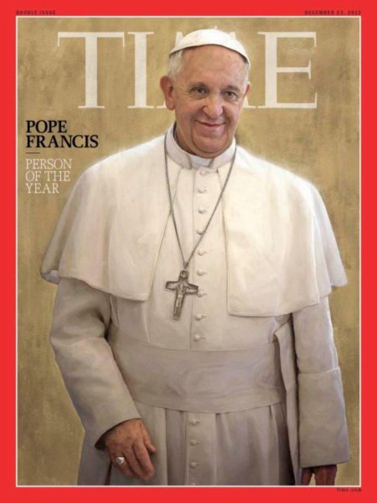 Hace 5 años que Bergoglio es Papa y estos son 5 datos que nos han sorprendido de él 50508_462_time_person_of_the_yea