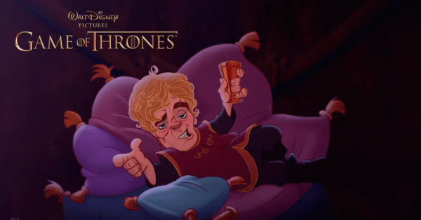 """Game Of Thrones"" al estilo Disney, GOT, Game Of Thrones"