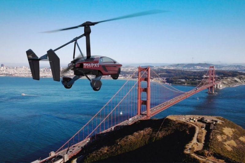 Ya están listos para despegar los primeros carros voladores en Ginebra, Suiza DXp-__CUQAAqosr