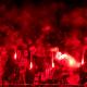 UEFA contra del PSG, PSG, UEFA, Real Madrid, bengalas