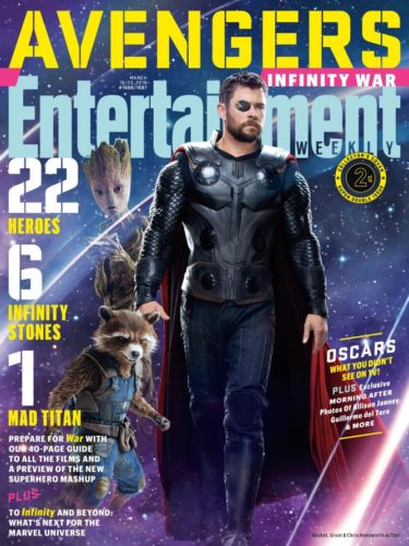 """Lanzan nuevas imágenes de """"Avengers: Infinity War"""" a menos de 50 días de su estreno ew1506_groot_thor_283t873293894-375x500"""