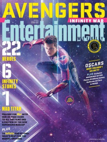 """Lanzan nuevas imágenes de """"Avengers: Infinity War"""" a menos de 50 días de su estreno ew1506_spidey_293623839830-375x500"""