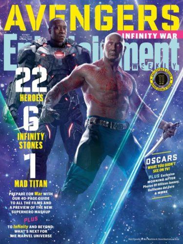 """Lanzan nuevas imágenes de """"Avengers: Infinity War"""" a menos de 50 días de su estreno ew1506_war-machine_892793278333-375x500"""