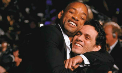 Marc Anthony enseñó a bailar a Will Smith, Marc Anthony , Will Smith
