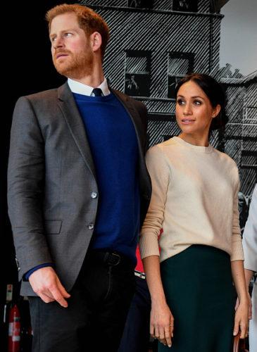 El Príncipe Harry y Meghan Markle no quieren regalos de boda 937098262-365x500