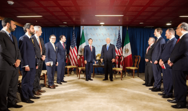 Enrique Peña Nieto se reunió con Mike Pence, el vicepresidente de Estados Unidos durante Cumbre de las Américas Captura-de-pantalla-2018-04-14-a-las-13.34.12-600x354