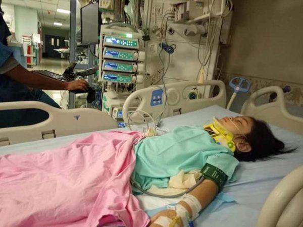 ¿Suerte? Una niña sobrevive a caída de 12 metros nintchdbpict000398436603-600x450