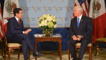 Peña Nieto se reunió con Mike Pence, Mike Pence, Enrique Peña Nieto