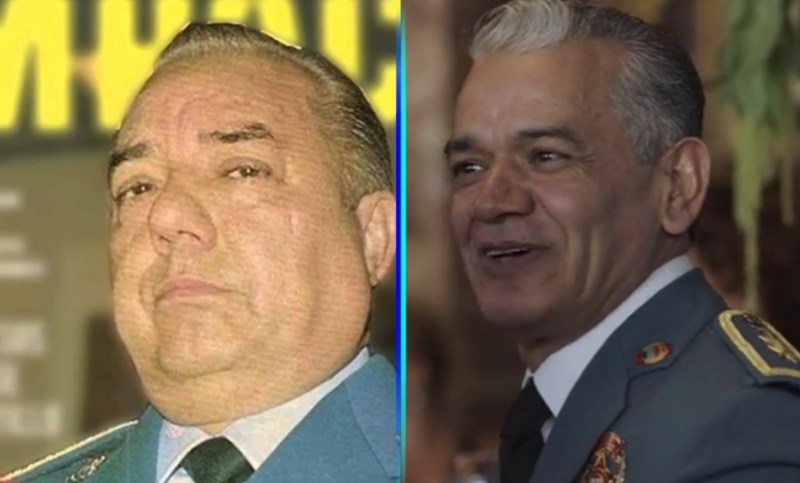 """""""El Sol"""" le canta a un presidente en el tercer capítulo de """"Luis Miguel, la serie"""" negro-dr"""