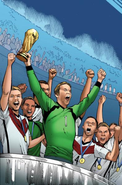 ¿Las estrellas del futbol son superhéroes? Crean cómic del mundial 0601