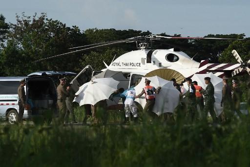Crónica: así fue el rescate de los niños en Tailandia 000_17D9D5