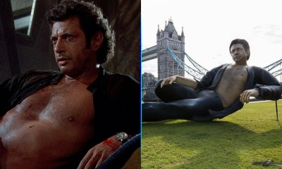estatua de Jeff Goldblum