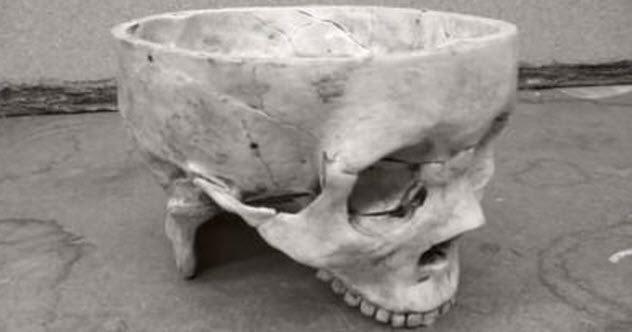 Ed Gein: el hombre detrás de 'Psicosis' de Alfred Hitchcock 7-skull-bowl