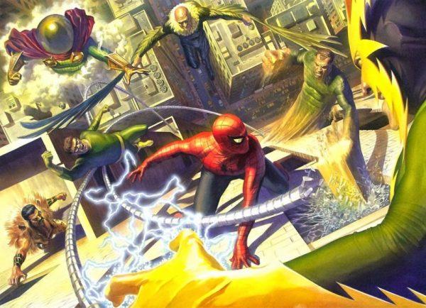 Ya hay fecha de estreno para 'Spider-Man: Far From Home' Los-Seis-Siniestros-600x434