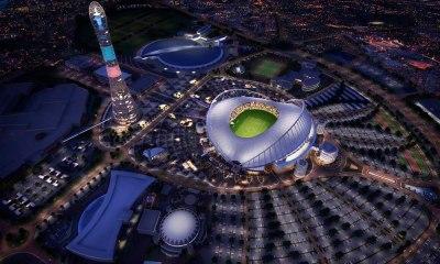 Estadio Khalifa listo para el Mundial