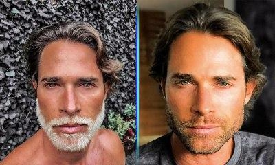 Sebastián Rulli se pinta la barba