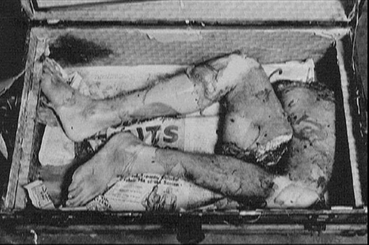 Ed Gein: el hombre detrás de 'Psicosis' de Alfred Hitchcock ed-gein-crime-scene