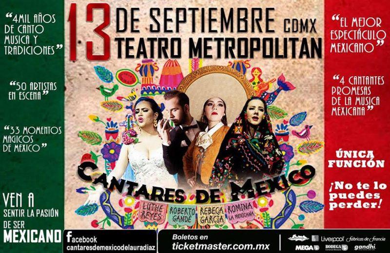 'Cantares de México' un espectáculo que te acercará a las raíces mexicanas unnamed-1-600x388