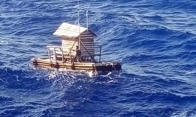Adolescente estuvo 49 días en alta mar