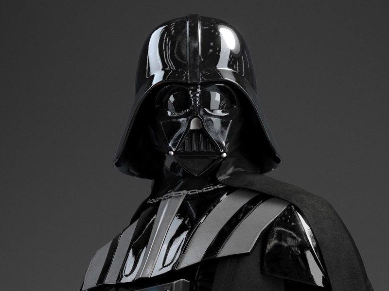 casco de Darth Vader