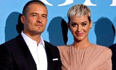 Katy Perry y Orlando Bloom aparecieron juntos