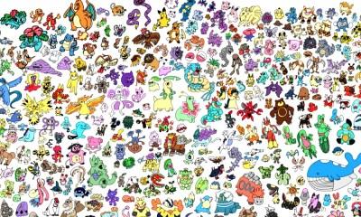 todos los pokémones