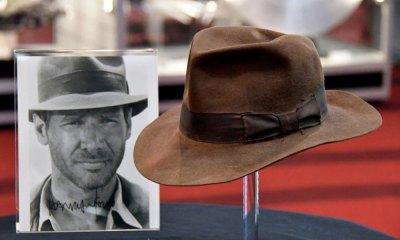 Subastan el sombrero de Indiana Jones