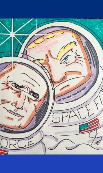 Exhibirán caricaturas de Jim Carrey sobre Donald Trump Jim-Carrey-Dibujos-02