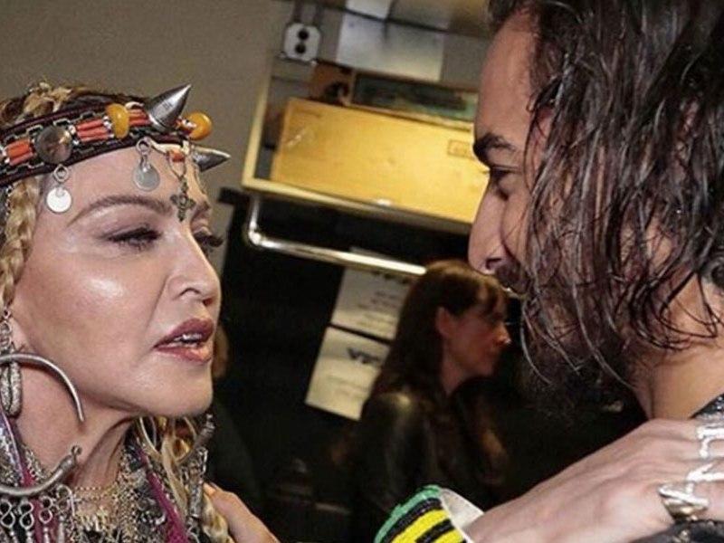 Maluma a dueto con Madonna
