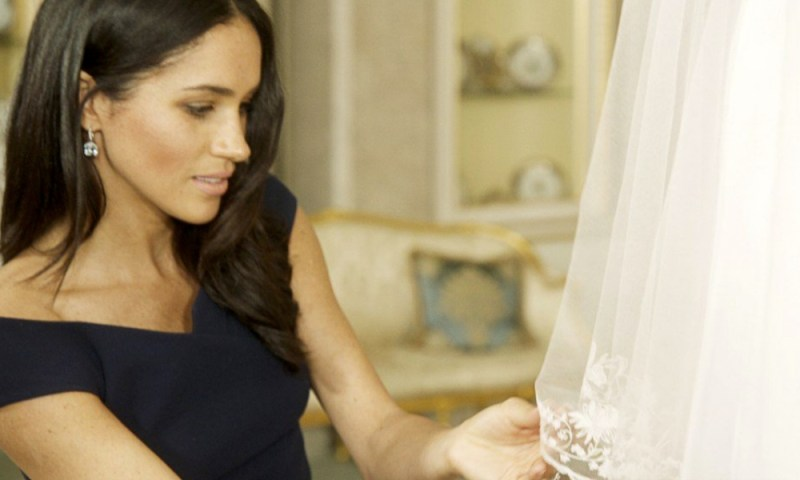 Meghan Markle reveló secreto sobre su vestido de boda Meghan-Markle-revel%C3%B3-secreto-sobre-su-vestido-3