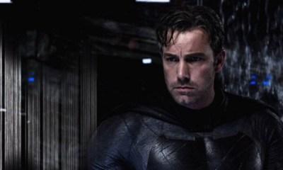 Ben Affleck quiere volver a ser Batman