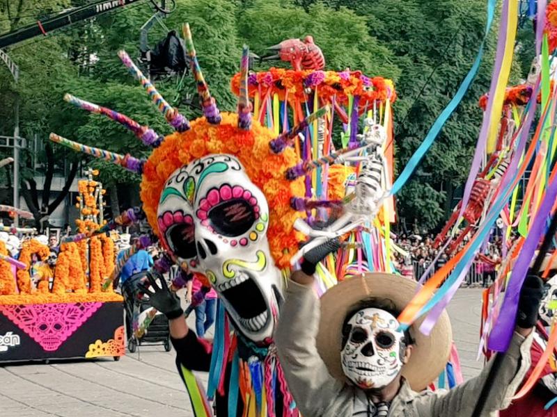 desfile de Día de Muertos 2018