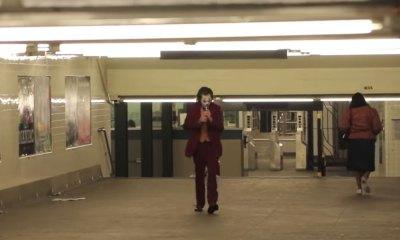 'Joker' se pasea por el Metro