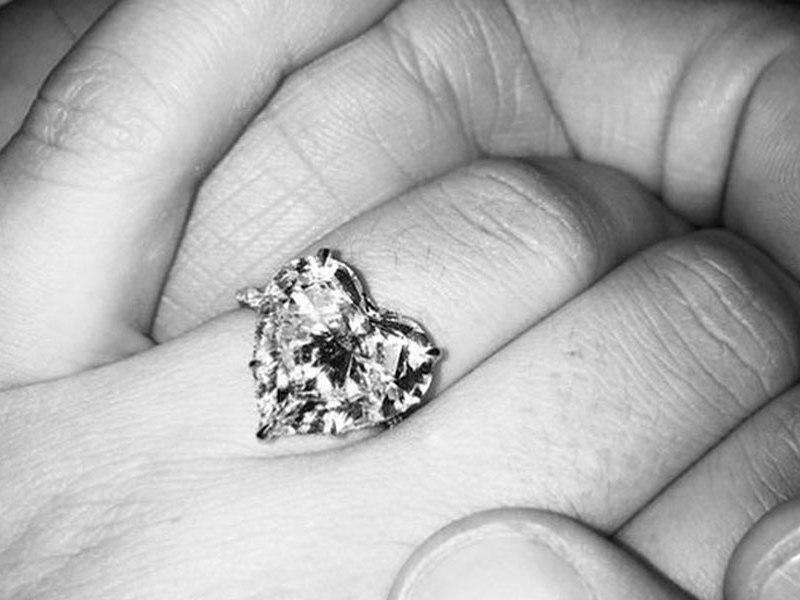 anillo de compromiso de Lady Gaga