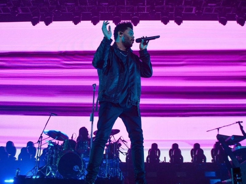 The Weeknd hizo vibrar