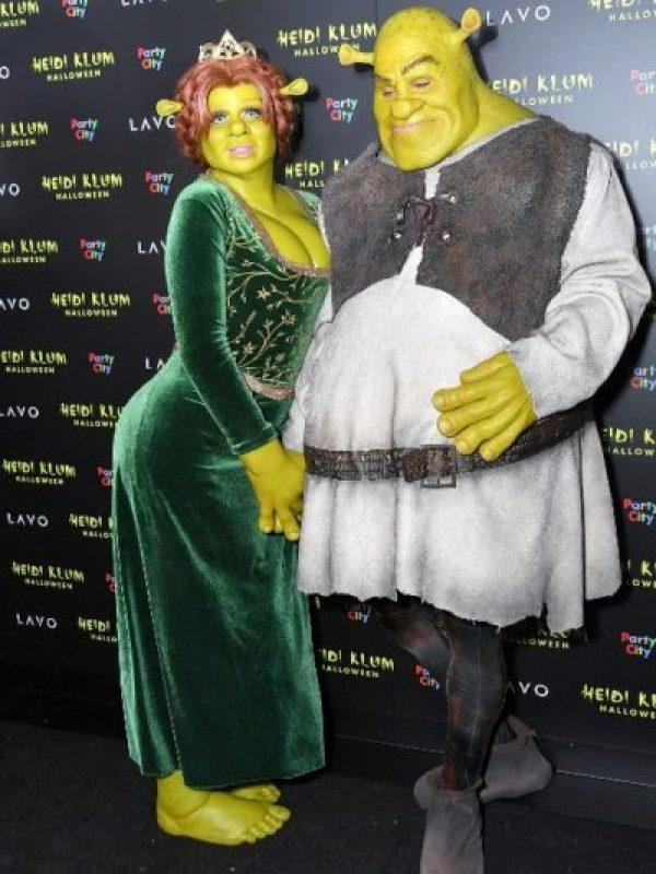Desde muy muy lejano llegó Heidi Klum como la princesa Fiona 063_1055844922-333x500